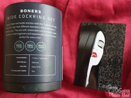 Boners Liquid Silicone Wide Cock Ring Set Examen