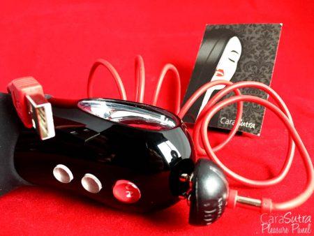 Fun Factory Black Line Test de vibrateur double bi