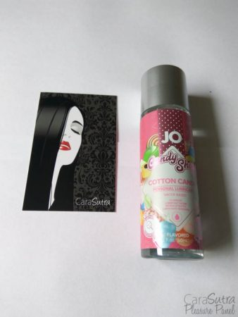 Système JO Candy Shop H2O Cotton Candy Lube Review