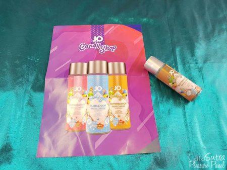 Système JO Candy Shop H2O Revue Lubrifiant au caramel écossais